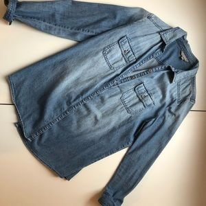Nordstrom Blue Jean Button Up
